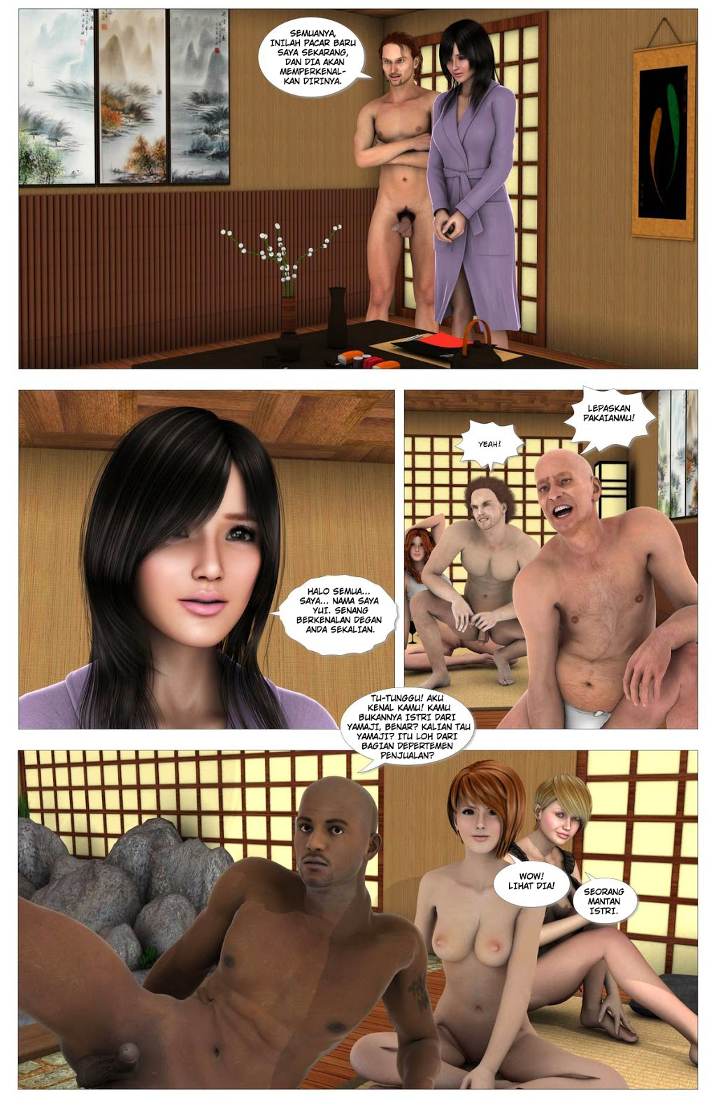 Komik Hentai Violet Off Ch5 Terlahir Kembali
